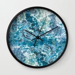 Fingerpainting Wall Clock