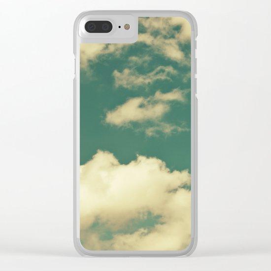 sky, clouds, dreams... Clear iPhone Case