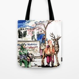 A piece of Kashmir Tote Bag