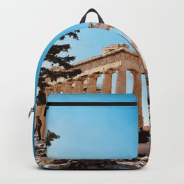 The Parthenon, Acropolis of Athens, Greece photography, ancient Greek Backpack