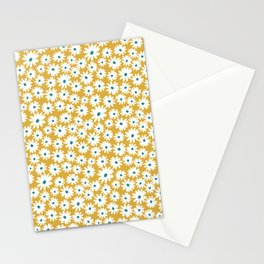 Daisies - Spring - Yellow Stationery Cards
