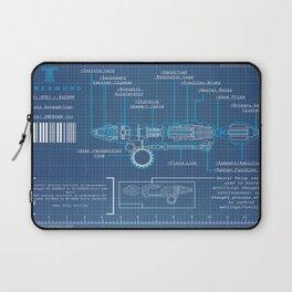 Riversong Screwdriver Blueprint Laptop Sleeve