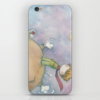 le petit prince iPhone & iPod Skins featuring Le Petit Prince by malipi