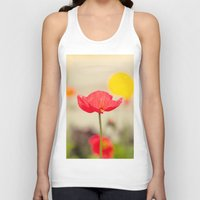 imagine Tank Tops featuring Imagine by Laura Ruth