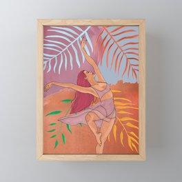 """Dance with Nature"" Framed Mini Art Print"