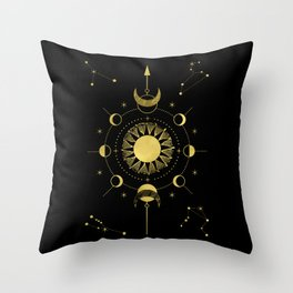 Sole Luna Throw Pillow