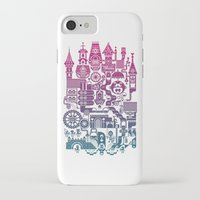 castle iPhone & iPod Cases featuring Castle Mama by C86 | Matt Lyon