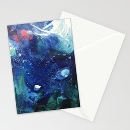 Bright Ocean Life, Tiny World Collection Stationery Cards