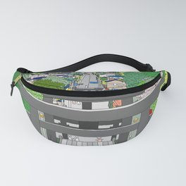 Passage to Light - Miyajidake Shrine Fanny Pack