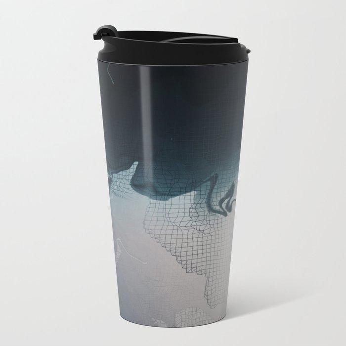 Glitch 15 Metal Travel Mug