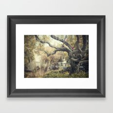 nice dream Framed Art Print