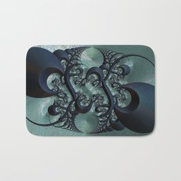 Dragon Shadows Bath Mat