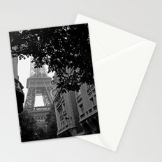 Eiffel Tower in Hiding Stationery Cards