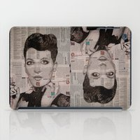 florence iPad Cases featuring FLORENCE  by Aidan Reece Cawrey
