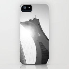 Minimalist Olympic Stadium iPhone Case