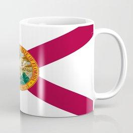 Flag of Florida-floridian,floridan,Miami,Tempa,Orlando,hispanic,beach,sun,jacksonville,holidays,warm Coffee Mug