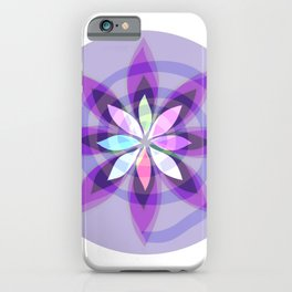 Mandala Flower-1 iPhone Case