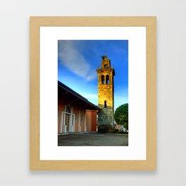 Arms Tower of David City Framed Art Print