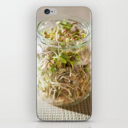 Many cereal sprouts growing iPhone Skin