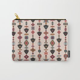 American Prairie Ethnic Tribal Seamless Pattern Carry-All Pouch