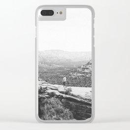 DEVILS BRIDGE / Sedona, Arizona Clear iPhone Case