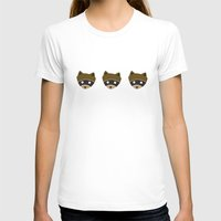 racoon T-shirts featuring Wes Racoon by mleko
