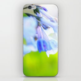 Bluebells iPhone Skin