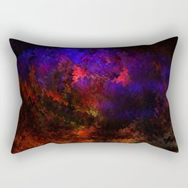 Concept abstract : The brain Rectangular Pillow
