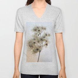 Florales · plant end 8 Unisex V-Neck