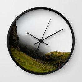 Storr Mist Wall Clock
