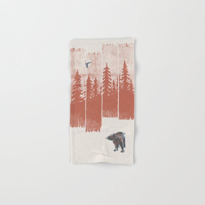 A Bear in the Wild... Hand & Bath Towel