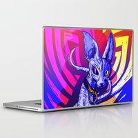 sphynx Laptop & iPad Skins featuring Sphynx!  by Devyn Park