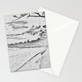Jamaican Sunset Sketched Stationery Cards