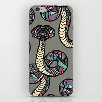 anaconda iPhone & iPod Skins featuring Anaconda by schillustration