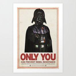 Imperial Propaganda Art Print