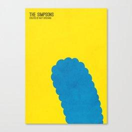 THE SIMPSONS - MINIMAL Canvas Print