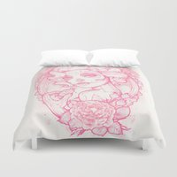 drink Duvet Covers featuring Drink Me by Satangelica