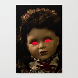 Dolly in the Attic IV Canvas Print