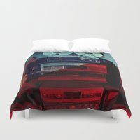 sound Duvet Covers featuring Sound by sysneye