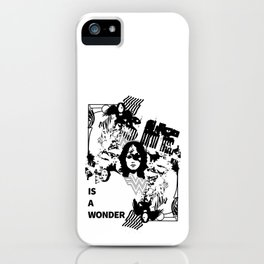 She Is A Wonder iPhone Case