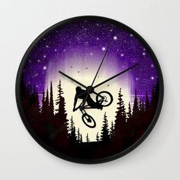 Moon Whip Wall Clock