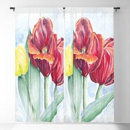 Tulips Blackout Curtain