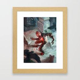 Beyond: Zombie Framed Art Print
