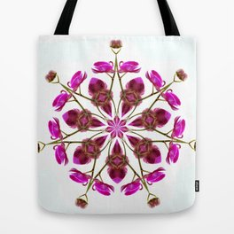 Fresh Orchid Medallion Tote Bag