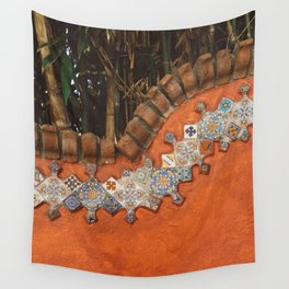 Mexican Tile Wall Tapestry