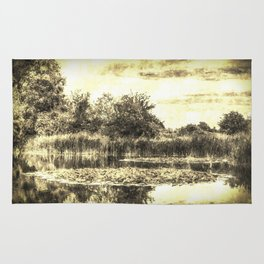 Lilly Pond Vintage Rug