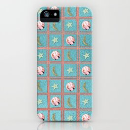Celestial Plaid iPhone Case