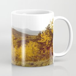 The Golden Fire Just Before Sunset Coffee Mug