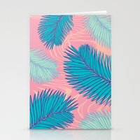 palm Stationery Cards featuring Palm by haytay