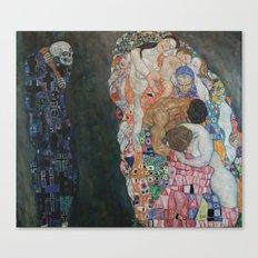 Gustav Klimt - Death and Life Canvas Print
